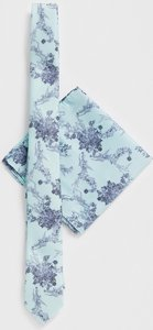 956d6bf670751 Read more about Asos design wedding slim tie pocket square in mint floral