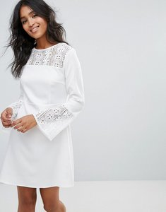 Read more about Rage crochet insert dress - white