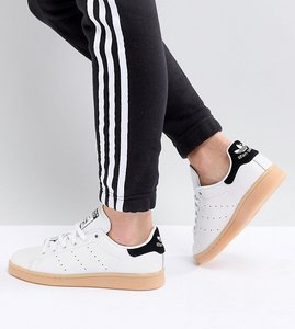 various colors 5ca80 e0bae adidas originals stan smith trainers in white m20326 | Shop ...