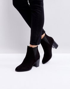 Read more about Oasis heeled ankle boots - black