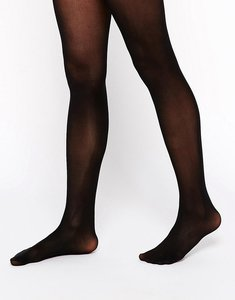 Read more about Asos design 40 denier tights with bum tum thigh support - black