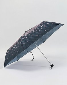 Read more about Fulton superslim 2 raining roses umbrella - black pink