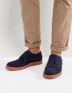 Read more about Kg by kurt geiger morcombe derby shoes with contrast sole navy - blue