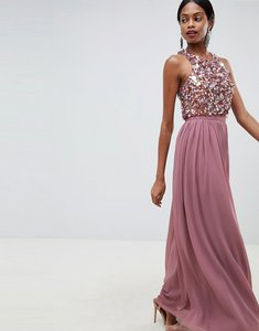 Read more about Asos design maxi dress with cluster embellished bodice