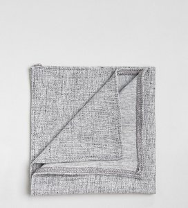 Read more about Noak pocket square in jersey texture - grey