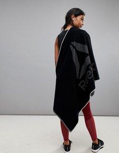Read more about Reebok active enhanced towel - black medium greyr
