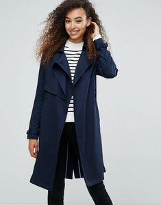 Read more about Mbym faux suede belted coat - night sky