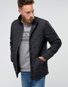 Read more about Barbour chelsea sports quilted jacket in black - black