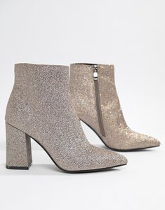 fd5fc38e5be public desire kilburn grey lace up heeled ankle boots taupe - Shop ...