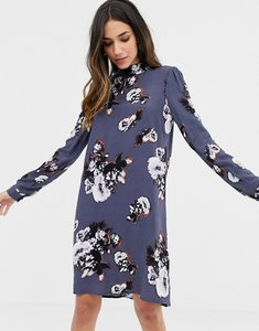 Read more about Y a s floral printed shift dress - multi