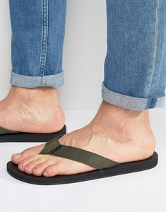 Read more about Abercrombie fitch flip flops - navy