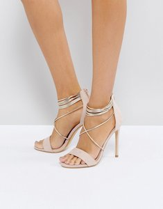 Read more about Office hollywood blush heeled sandals - pink