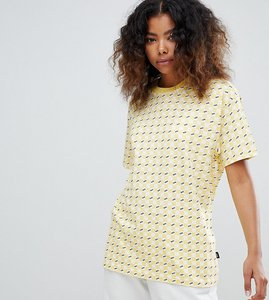 33b089f012 Read more about Vans exclusive yellow all over checkerboard t-shirt - yellow