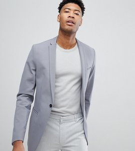 Read more about Noak tall skinny jersey blazer - grey