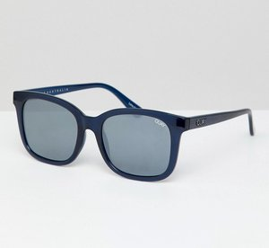 Read more about Quay australia kingsley square frame sunglasses - nvy mir