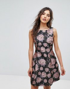 Read more about Oeuvre floral skater dress - pink