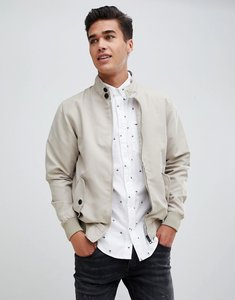 Read more about Brave soul summer harrington lined jacket - stone