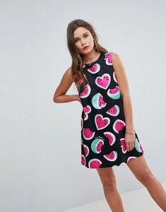 Read more about Love moschino juicy watermelons sleeveless dress - 0097