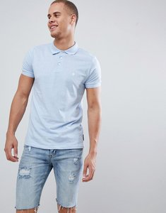 Read more about French connection classic polo shirt - sky mel white