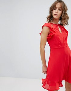 Read more about New look ruffle dress - red