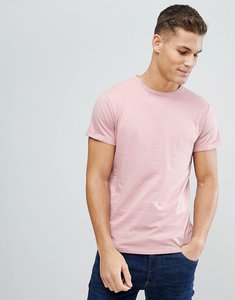 Read more about Threadbare chest pocket t-shirt - blush pink