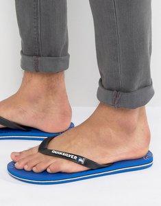 Read more about Quiksilver molokai flip flops - blue