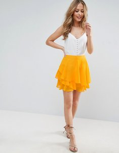 Read more about Asos mini rara skirt - orange