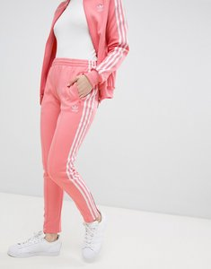 Read more about Adidas originals three stripe cigarette pants in pink - tactile rose f17