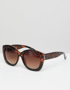 Read more about Black phoenix cat eye sunglasses - brown