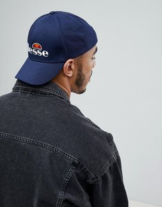 Read more about Ellesse snapback cap with logo in navy - navy