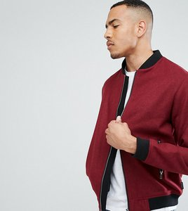 Read more about D struct tall wool bomber jacket - red