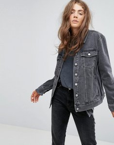 Read more about Weekday double denim jacket - black stone