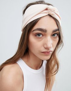 Read more about Johnny loves rosie blush pleat knot wide headband - blush