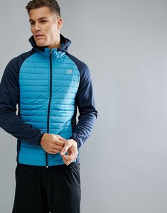 Read more about Jack jones tech quilted training jacket - blue jay