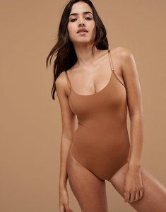 Read more about Nubian skin naked collection nude bodysuit in medium - medium