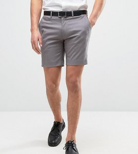 Read more about Only sons skinny smart shorts - grey