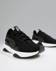 Read more about Puma training defy trainers in black - black