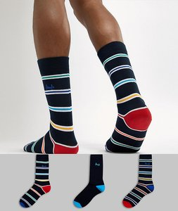Read more about Pringle laurencekirk socks 3 pack - multi
