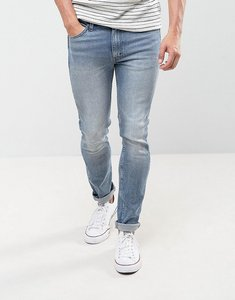 Read more about Levis line 8 skinny jeans hearns wash super stretch - blue