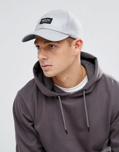 Read more about Nicce london baseball cap in reflective - grey
