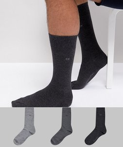 Read more about Calvin klein socks 3 pack - multi