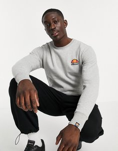 Read more about Ellesse sweatshirt with small logo - grey