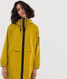 Read more about Esprit nylon lightweight parka jacket in mustard