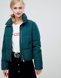 Read more about Jdy short padded jacket - green