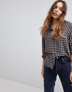 Read more about Jdy gingham printed shirt - multi