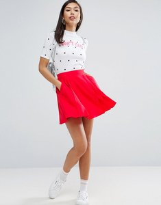 Read more about Asos mini pleated skirt - red