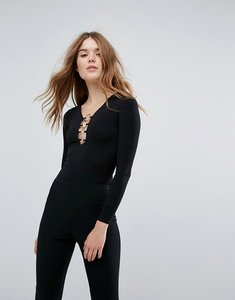 Read more about New look ring detail body - black