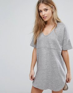 Read more about French connection alexis jersey dress - grey mel