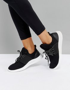 Read more about Adidas athletics 24 7 trainers in black - core black