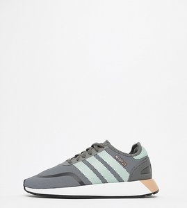 Read more about Adidas originals n-5923 runner trainers in grey and mint - grey